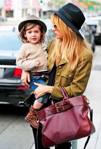 Модная мама и стильный малыш