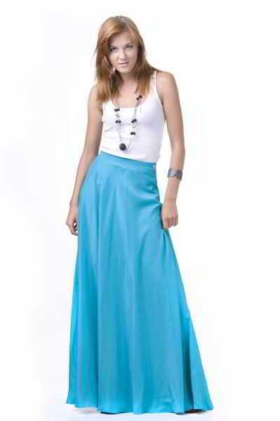 Пышная юбка и с чем её носить